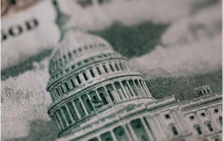 Image of capitol building on back of $50 bill